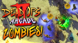 Black Ops 3 DEAD OPS ARCADE 2 (3rd Person Zombies)! w/ Ali-A