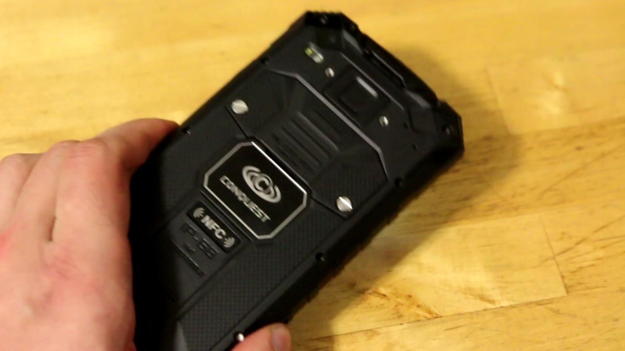 Видеообзор Conquest Knight XV защищенного смартфона - MAGMID.ru .