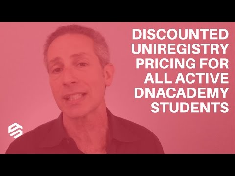 Discounted Uniregistry Pricing for All Active DNAcademy Stud