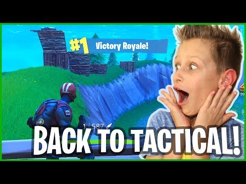 Victory Royale - Going Back to Tactical Shotguns!