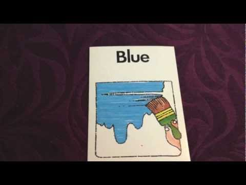 English Vocabulary - Colours and Shapes - Video 9 of 10 - Free Educational Resources