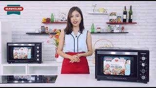 MC NGỌC ANH REVIEW LÒ NƯỚNG SUNHOUSE 48 lít - MC sản phẩm