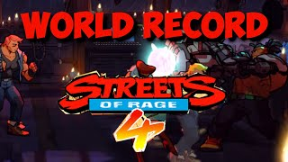Streets of Rage 4: [World Record] speedrun - Arcade Mania 1:05:28