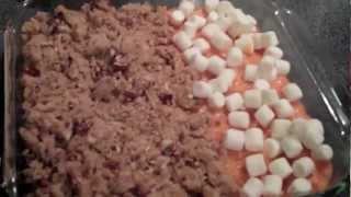 Sweet Potato Casserole Thanksgiving Side Dish