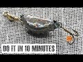 El señuelo mas barato y mas fácil de hacer | cucharilla casera para pescar