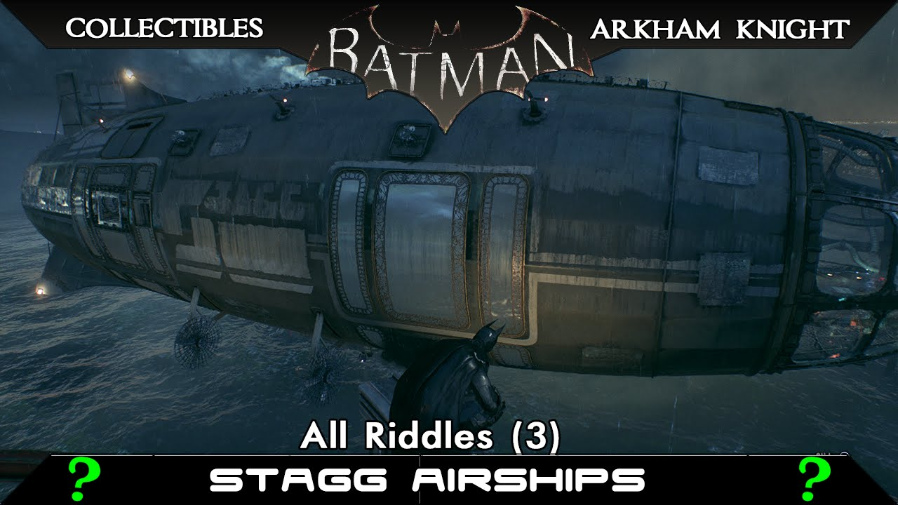 arkham knight riddler guide stagg