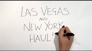 New York and Las Vegas Haul ft. Balenciaga, COS, H&M, Tibi, BareMinerals