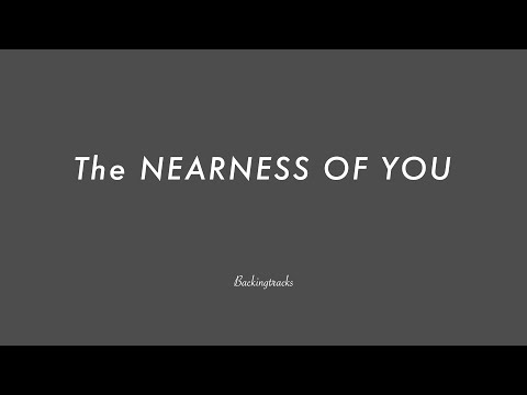 The NEARNESS OF YOU- Backing Track Play AlongJazz Standard Bible 2 Guitar