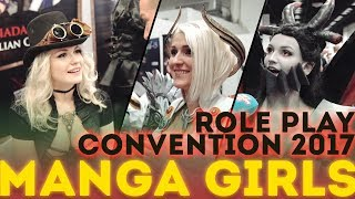 MANGA GIRLS auf der Role Play Convention 2017 !!!