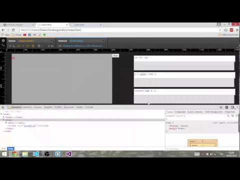 creating a code editor - part 2: basic HTML and CSS injection