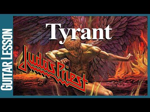 Tyrant By Judas Priest - Guitar Lessons