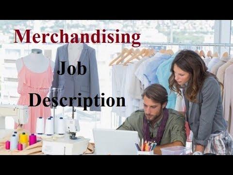 Merchandiser Job Description - YouTube