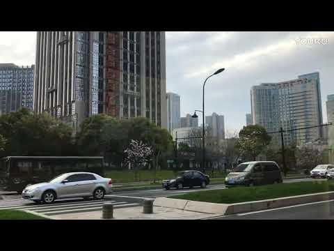 Aerial Hangzhou (→_→)路过杭州一个叫临平的镇(浙江省China Zhejiang Province)