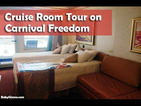 Carnival Freedom Cruise Room Tour by Baby Gizmo  YouTube