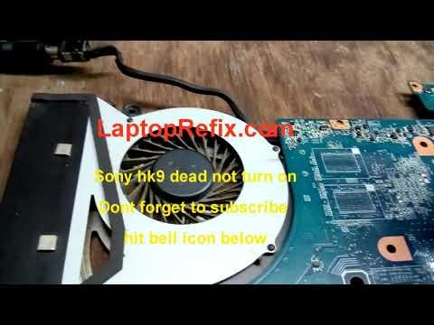 Sony VAIO SVF15 dead laptop repair case study