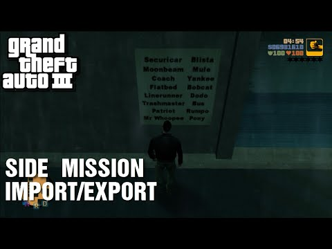 GTA III - Side-Mission - Import/Export