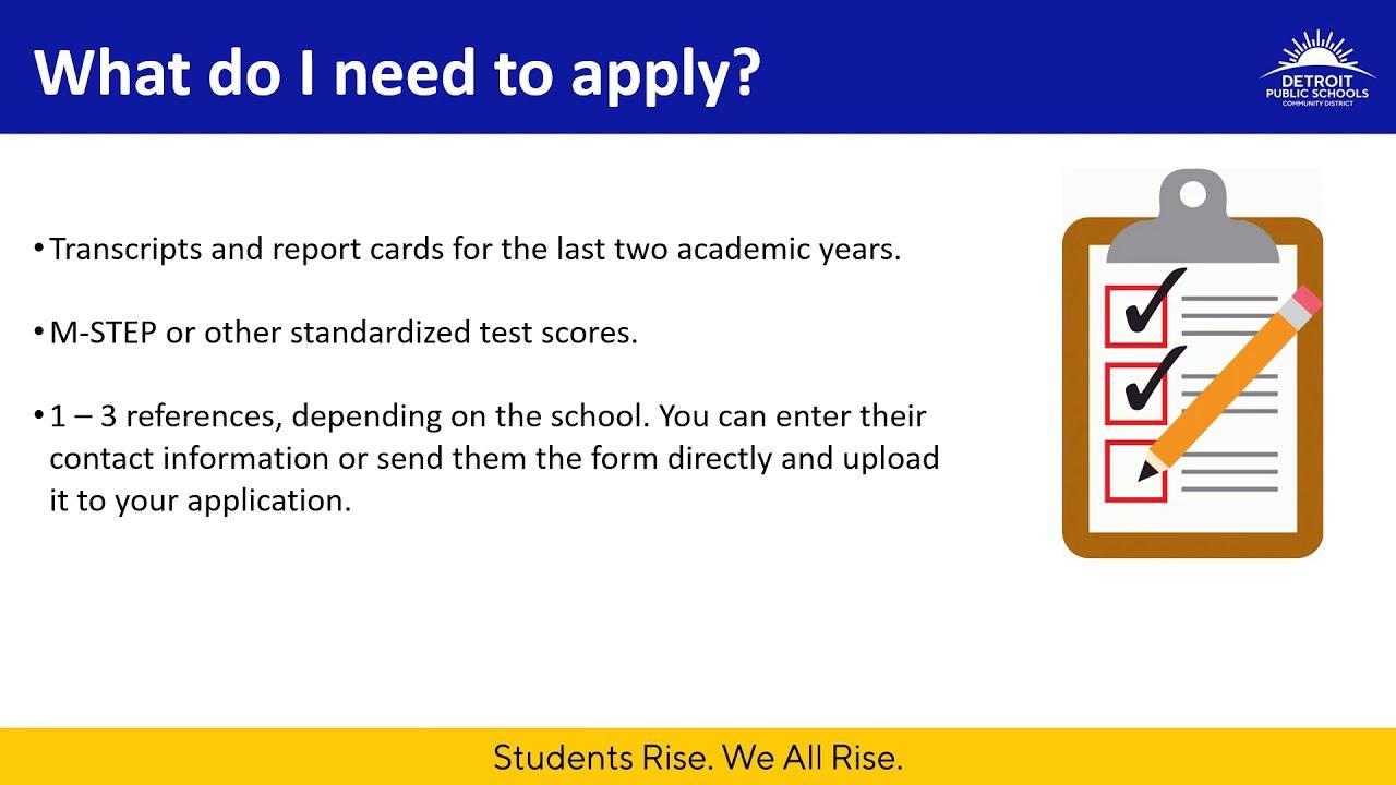 Partnerships and Innovation / Application Schools