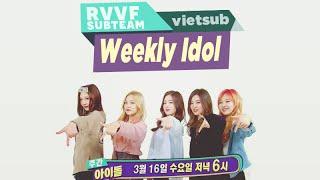 [RVVF Subteam][Vietsub] 160316 Red Velvet @ Weekly Idol Ep.242