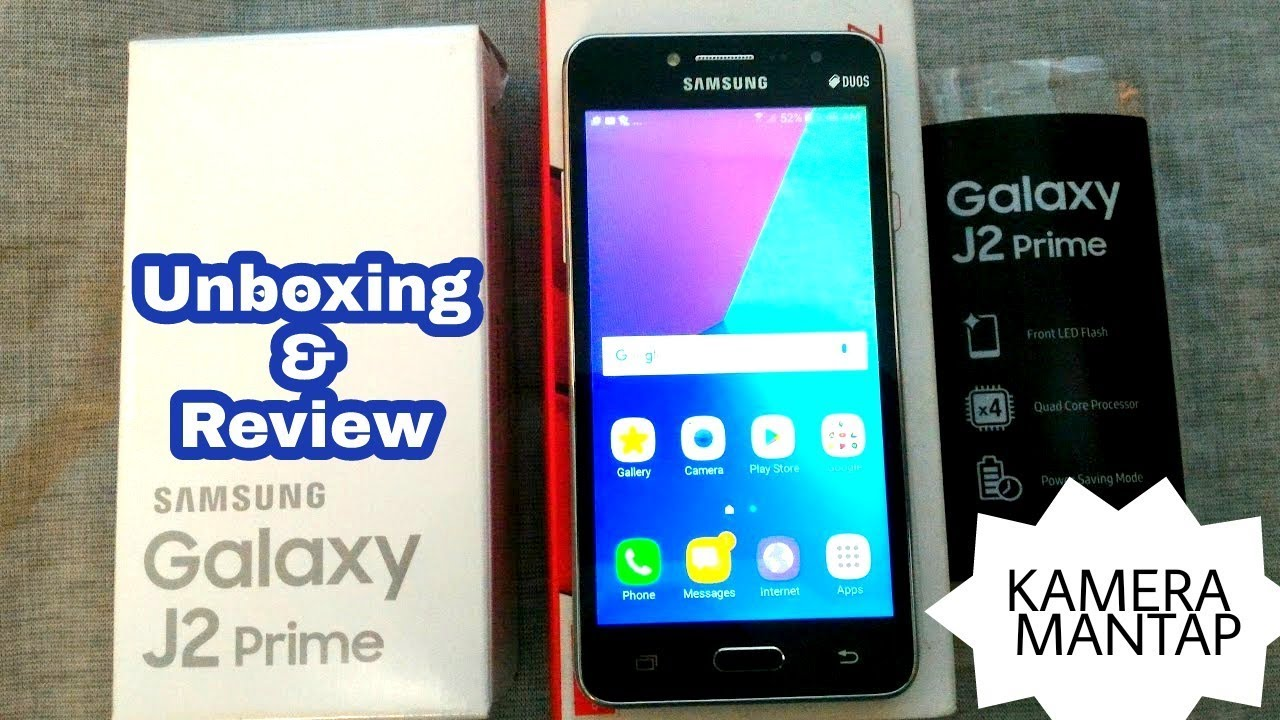 Review Amp Unboxing Samsung J2 Prime