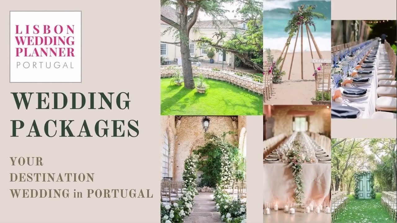 Wedding Packages - by Lisbon Wedding Planner