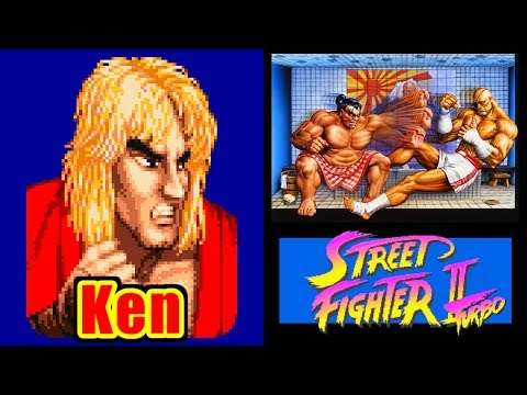 Ken - STREET FIGHTER II Turbo for SFC/SNES