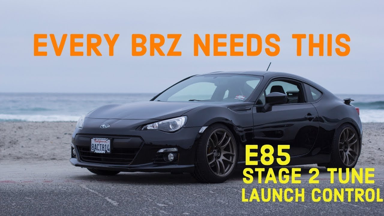 BRZ GETS E85 + STAGE 2 TUNE + CLUTCH + LAUNCH CONTROL