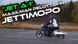 Sickest TurboJet moped on the planet (Maailman pelottavin Jettimopo)I Riding with Uskali I Episode 4