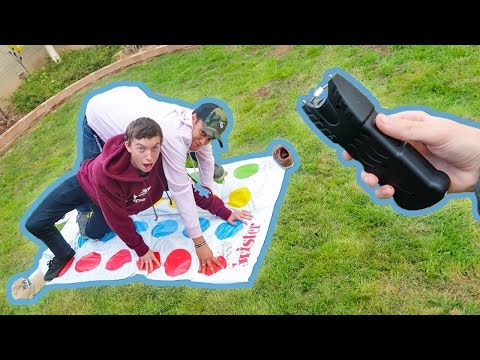 Thumbnail: EXTREME GAME OF TASER TWISTER!