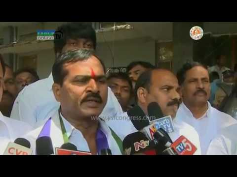Kurnool : YSRCP Leader Gowru Venkata Reddy files Nomination for MLC Election - 28th Feb 2017