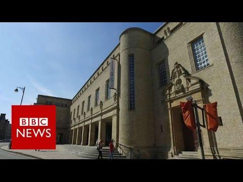 RIBA: The Weston Library - BBC News