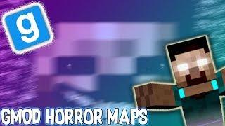 MINECRAFT INSPIRED HORROR MAP?! | Garry's Mod Horror Maps