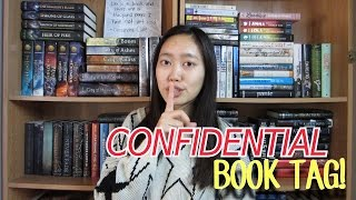 CONFIDENTIAL BOOK TAG! Thumbnail