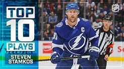 Top 10 Steven Stamkos plays from 2018-19