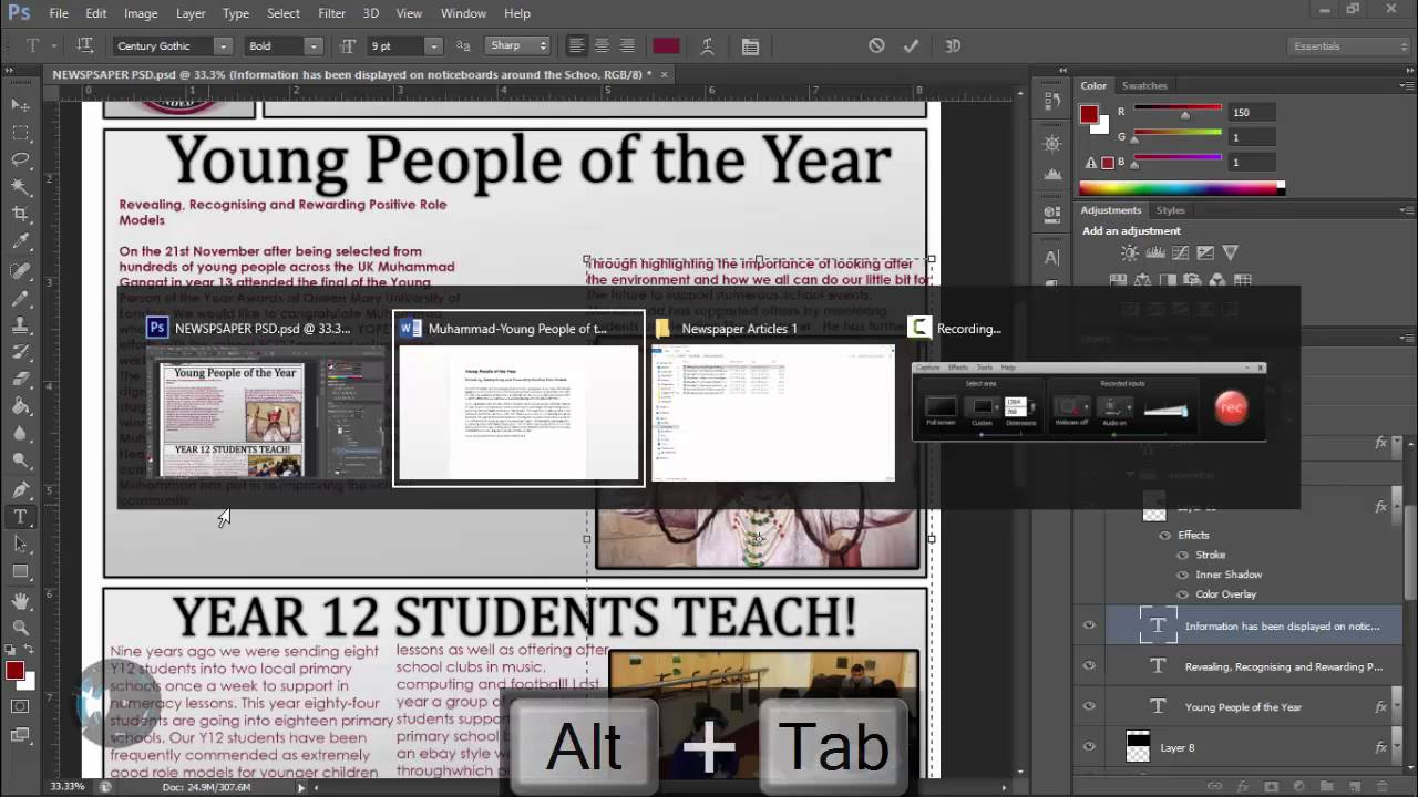 Tutorialhow to make an awesome newspaper template part 2 tutorialhow to make an awesome newspaper template part 2 manipulating text and graphics maxwellsz