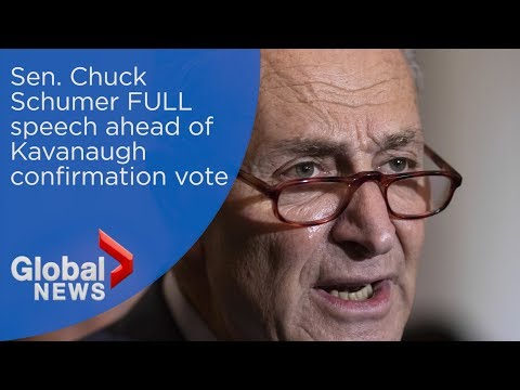 Chuck Schumer calls Kavanaugh confirmation a 'low moment' for U.S. Senate