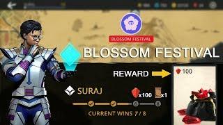 Shadow Fight 3 Official Blossom Festival Insane Battle - Reward 100 Gems