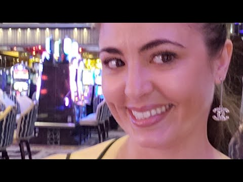 2 BIG SLOT MACHINE JACKPOTS LIVE - Lady Luck HQ 1st Time Going Live @ Cosmopolitan Las Vegas Casino!