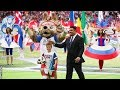 World Cup 2018 Ronaldo and Robbie Williams star in opening ceremony