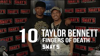 Taylor Bennett Smashes the Very First 10 Fingers of Death!