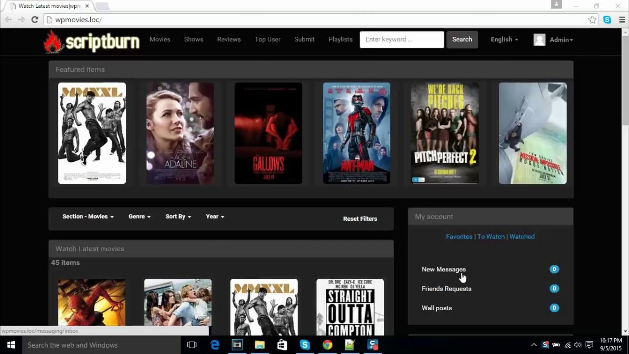 Wordpress Movie Plugin Review Youtube