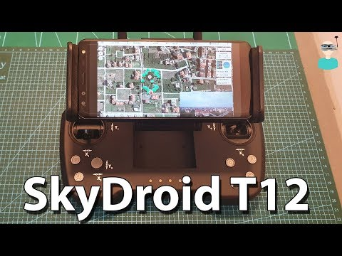 SkyDroid T12 - Overview, System Setup & Latency Test