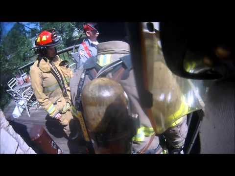 WPFD Structure Fire Helmet Cam 4/25/16