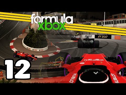 THE MASTERS OF CODE! F1 2017 | Formula Xbox S8 | Round 12 Monaco (Night race)
