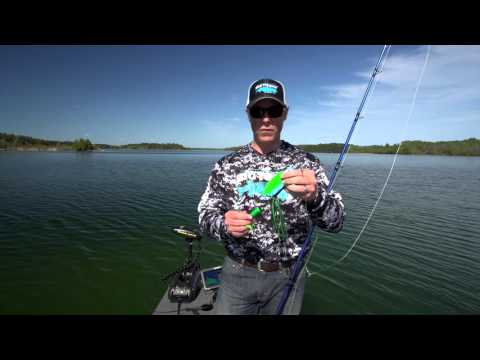 Best Musky Spinnerbait Lure - Bigtooth Tackle Straight-Wire