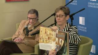 Justice Ruth Bader Ginsburg Visits the Young Readers Center