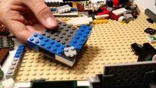 """How Its Made: Lego Edition """"office Desk"""""""
