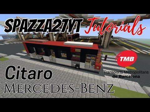 Mercedes-Benz Citaro Bus TMB Barcelona Spain Tutorial