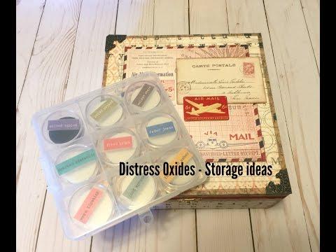 Distress Oxide storage