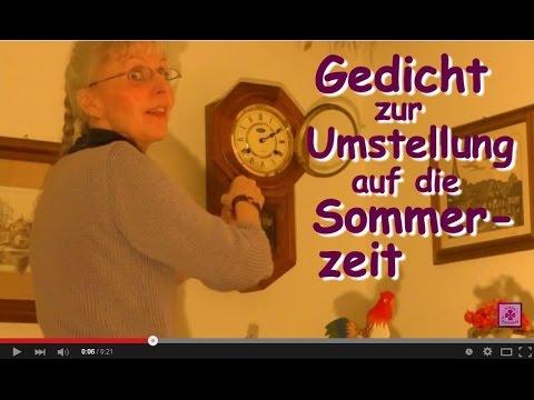Fg100 Uhrumstellung Sommerzeit Gedicht Zur Zeitumstellung Video Ohne Musik