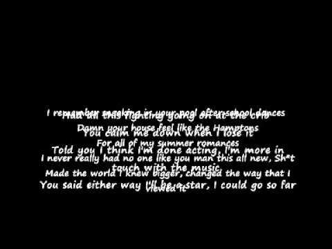 Drake  Look What Youve Done Lyrics